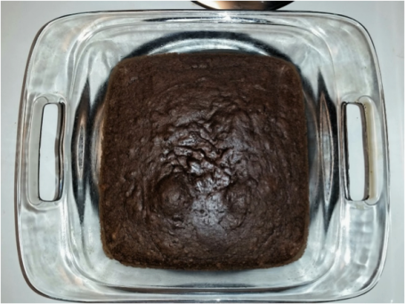 Black bean brownie.